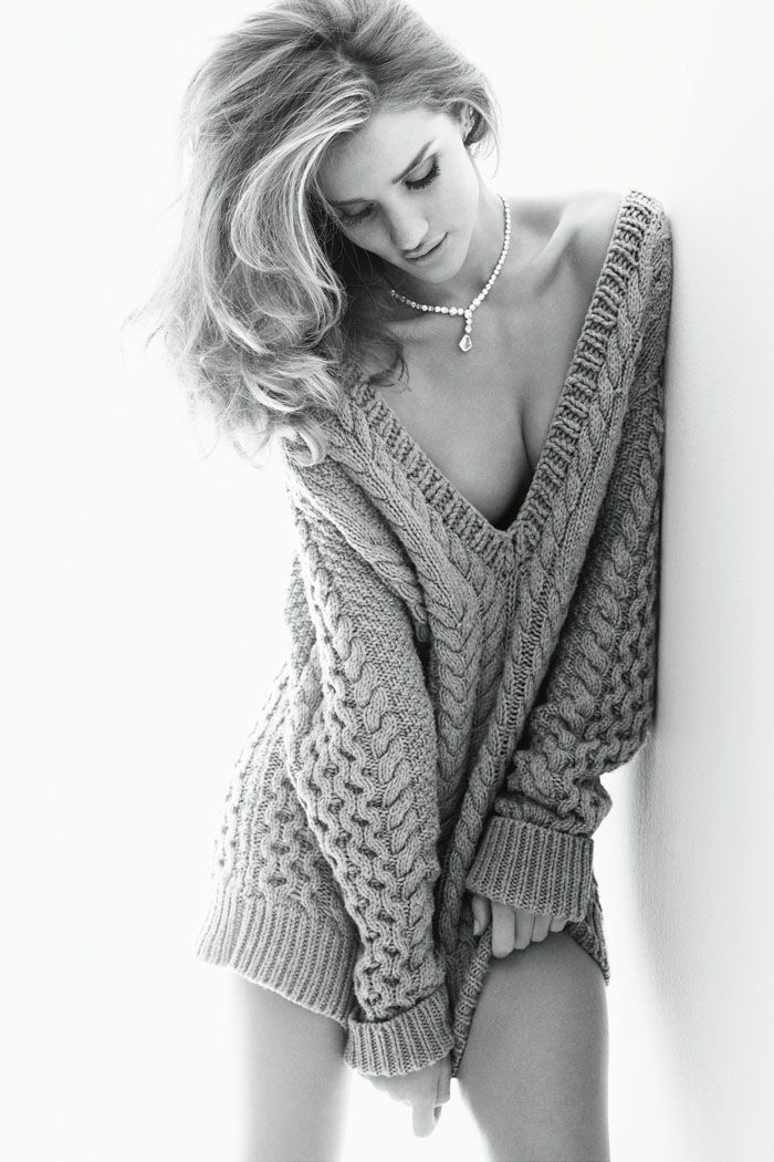 Rosie Huntington-Whiteley for Vogue Germany 2011