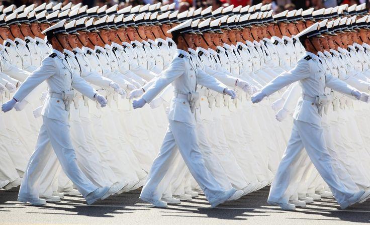 L'art chinois du défilé