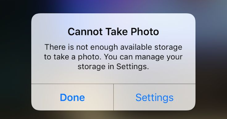 """Avoid Apple's pesky """"Storage Almost Full"""" warning by following these simple steps."""
