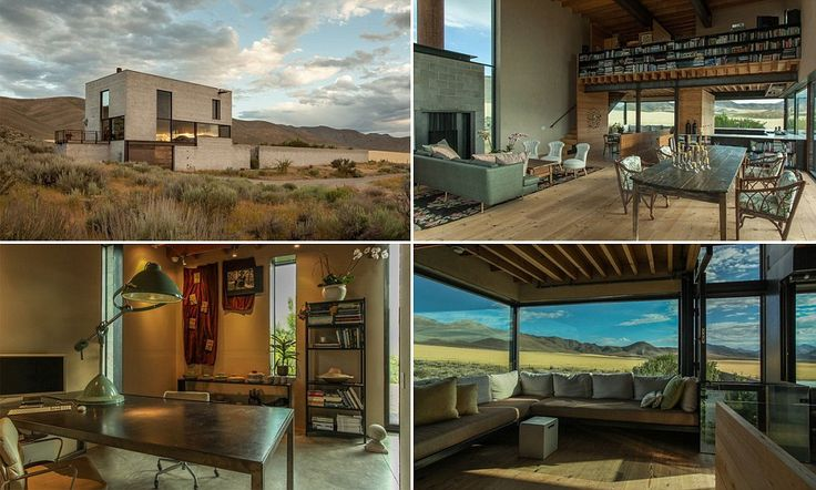 One-bedroom glass home in middle of desert on sale for $2.75 million