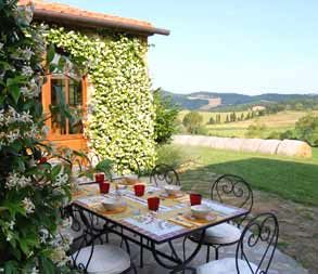One day, I'll be sitting here with family and friends, drinking wine and eating beautiful food...