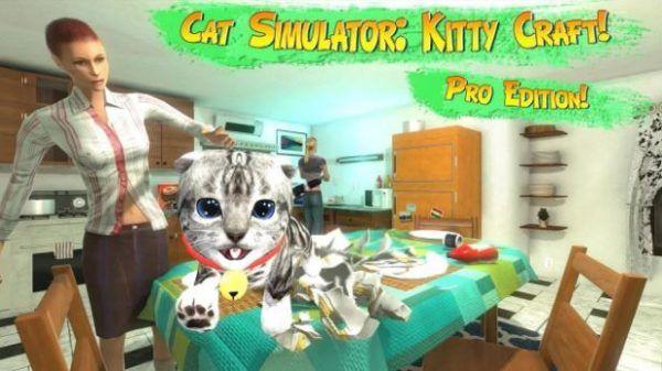 Cat Simulator Kitty Craft Pro Edition es un juego de acción y simulación realista donde nos divertiremos con varias razas de gatitos adorables siendo de todo un poco como jugar con objetos diferentes, explorar, cazar ratones, interactual con humanos, alimentarte y muchas cosas mas, ademas hay varias misiones y niveles que tendrás que completar para avanzar en la historia, en definitiva Cat Simulator Kitty Craft Pro Edition es una App árcade de gatos cariñosos y lindos que todo amante de…