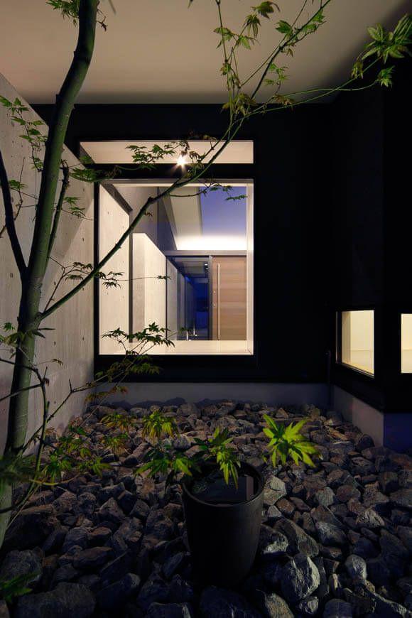 平屋・二世帯住宅 流れ屋根の平屋 アーキッシュギャラリー