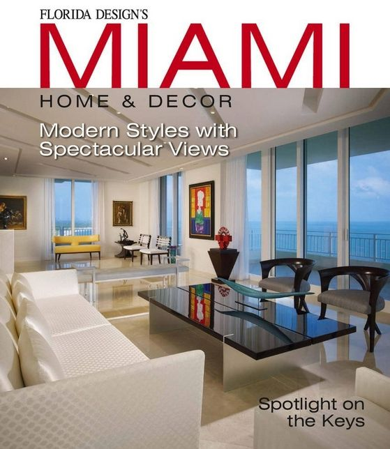 Christopher Guy's fabulous Lexa chairs on the cover of Florida Design magazine! www.avaxdeco.gr #avax #avaxdeco #christopherguy #floridadesignmagazine #furniture