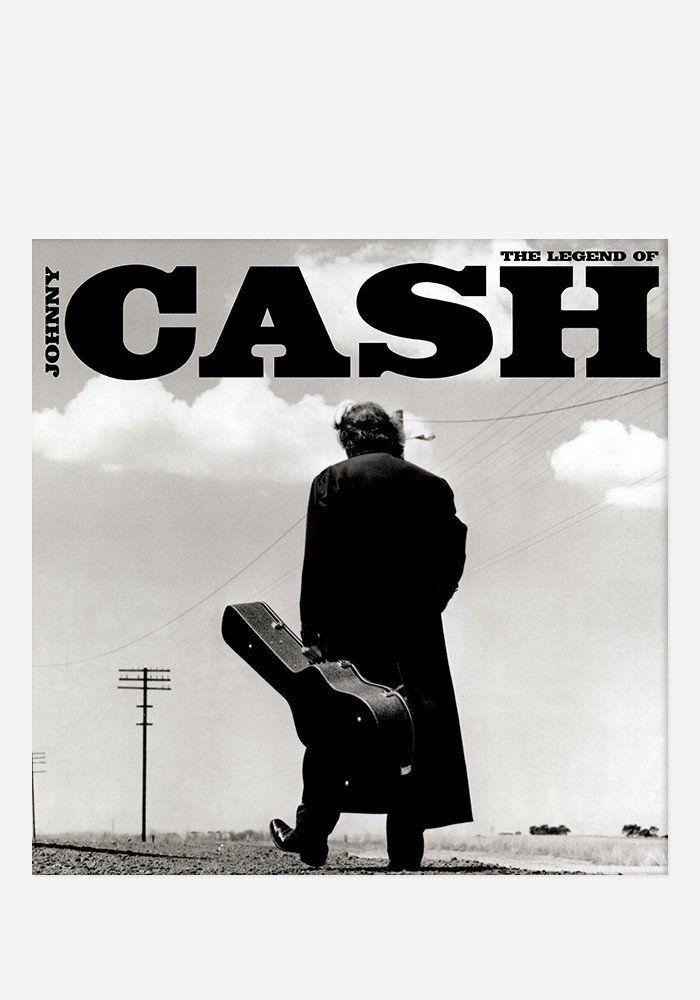 JOHNNY CASH Legend Of 2 LP