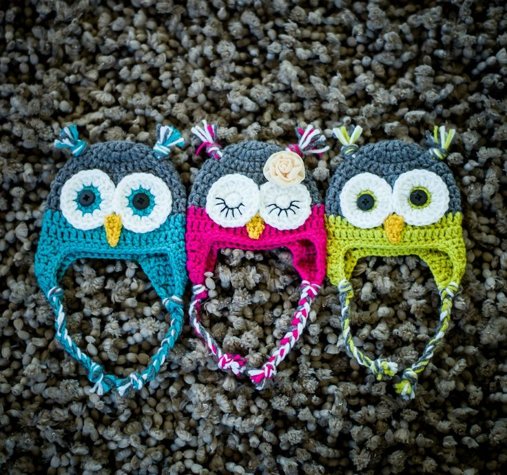Crochet Pattern For Newborn Owl Hat : 25+ best ideas about Owl Hat on Pinterest Crochet owl ...