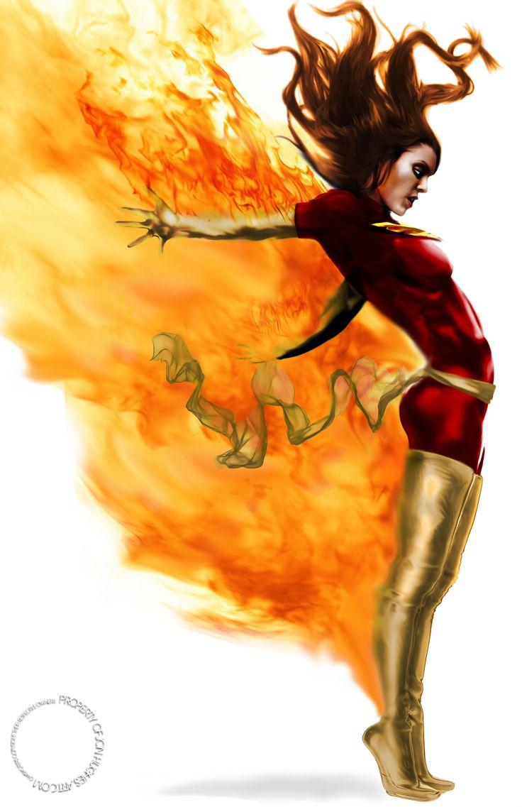 Dark Phoenix by Jon Hughes