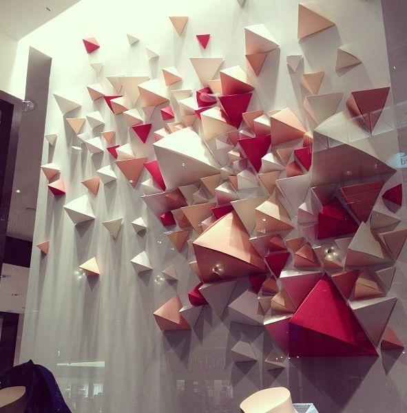 Geometric paper.