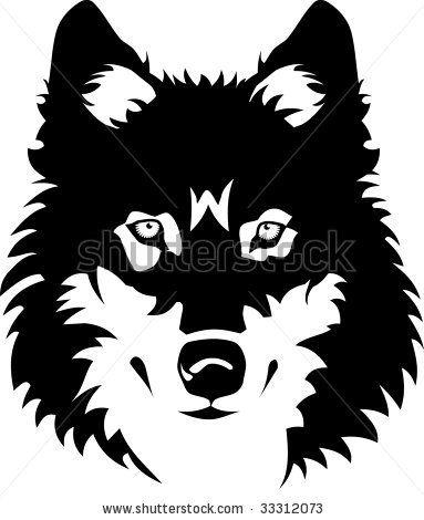 best 25+ wolf stencil ideas on pinterest   wolf silhouette, wolf