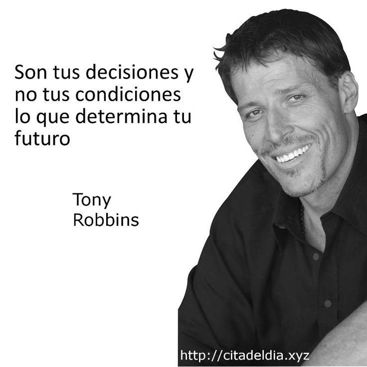 11 best crecimiento personal y laboral images on pinterest for Tony robbins tattoo