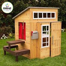 Marvelous KidKraft Modernes Outdoor Spielhaus SpielhausKletterturmKinderhausDiy GartenZwillingeSpielplatzHolzhausSonstigesKinderzimmer