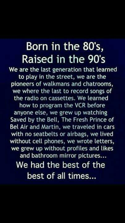 Didn't watch Martin though. And the cars had seat belts when I was growing up.