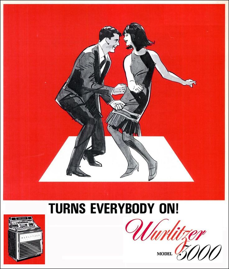 In the 1960's Wurlitzer 'turns everybody on'- even in the burbs the sexual revolution is on it's way....