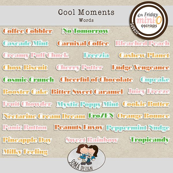 SoMa Design: Cool Moments - Words