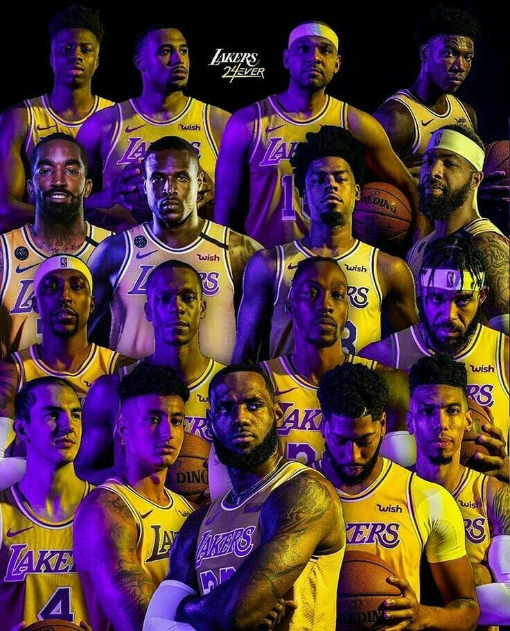 Pin By Tasha Starr Lakercrew Presente On Lakercrew 1 In 2020 Lakers Wallpaper Lakers Roster Nba Pictures