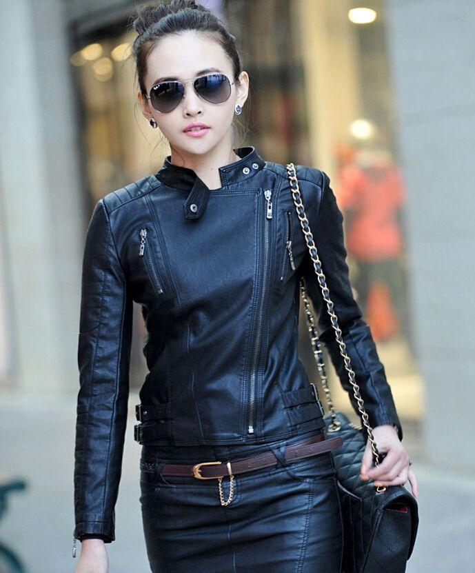 17 mejores ideas sobre chaqueta cuero mujer en pinterest - Terranova ropa ...