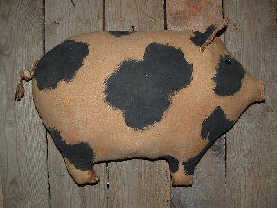 Free Primitive Sheep Pattern   Primitive Folkart Pigs