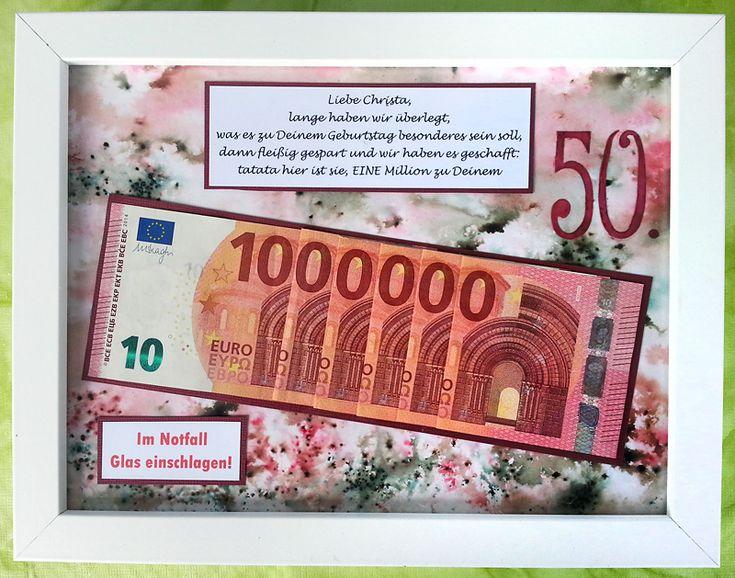 Renates Kreativeck: Und noch ein Geldgeschenk . . .