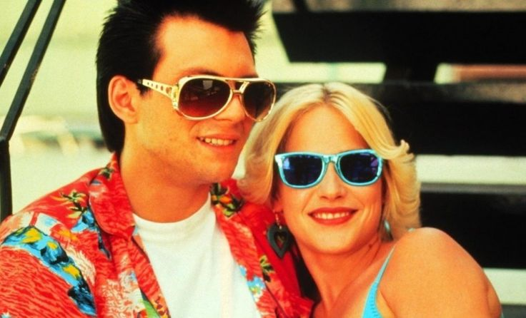 Clarence Worley (Christian Slater) and Alabama Whitman (Patricia Arquette) in True Romance (1993)