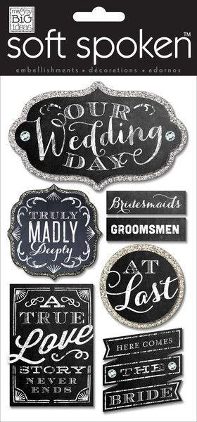 Wedding Chalkboard wedding album idea