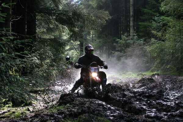 Enduro with Mick Extance