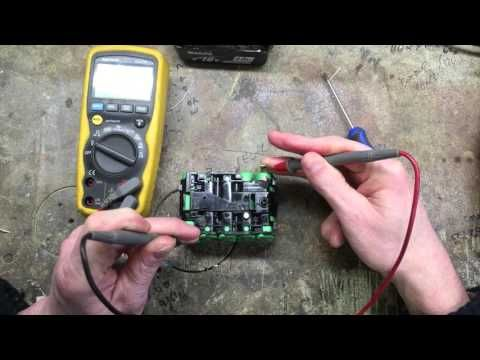 Makita BL1830 18v Battery Repair - YouTube