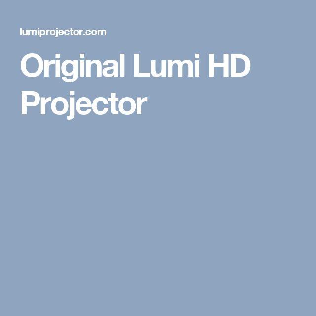 Original Lumi HD Projector