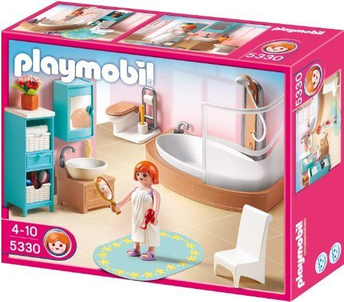 Playmobil 5330 Country Bathroom Set By Playmobil. $21.62. Ages 4 And Up. 9.8
