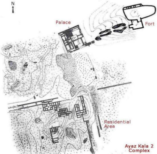 Ayaz Kala 2 complex
