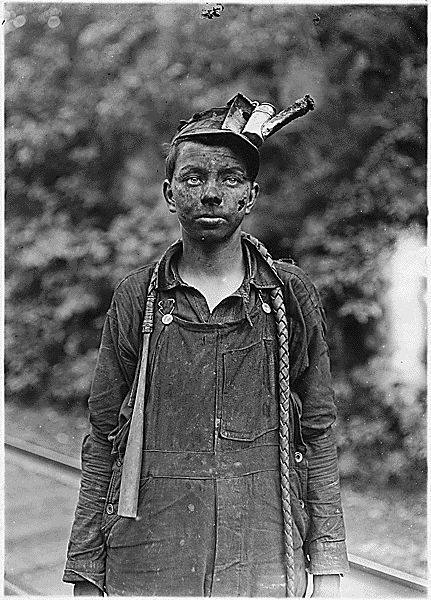 Child Labor, mining Lewis Hine