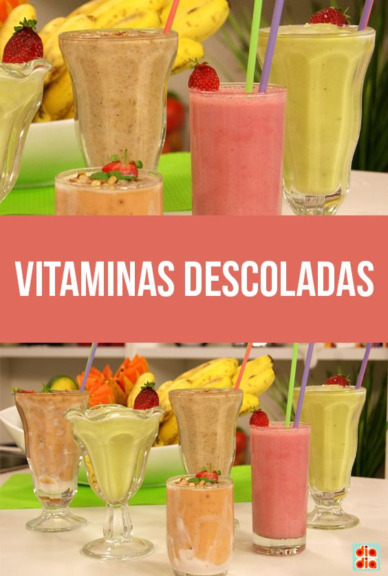 Vitaminas descoladas