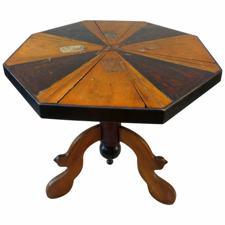 19th Century Game Table | From A Unique Collection Of Antique And Modern  Game Tables At