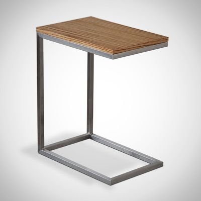 Gus* Modern's Bishop Table is a lightweight, C-shaped accent table that's a perfect place for your iPad or other control device...especially should you use the Tabletop LaunchPort.