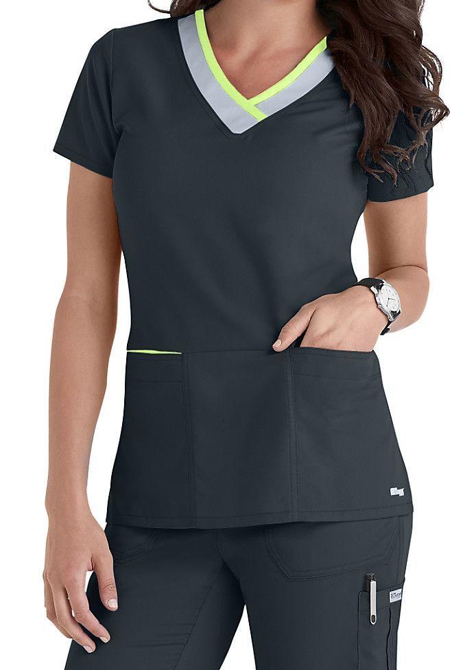 Scrub Tops for Women | Scrubs & Beyond. Check out that cool T-Shirt here: https://www.sunfrog.com/Funny-nurse-T-Shirt-Black-Ladies.html?53507