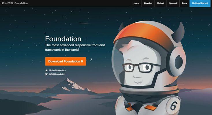 Framework HTML5 responsive, boilerplate dan alat-alat yang digunakan untuk pengembangan web front-end (HTML, CSS, dan JavaScript)
