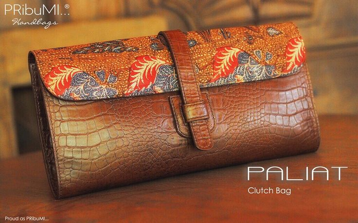 PALIAT Clutch Bag by PRibuMI...®
