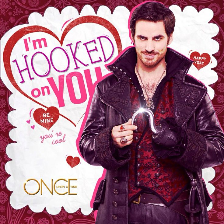 Captain Hook Once Upon A Time: Captain Hook Once Upon A Time Valentine