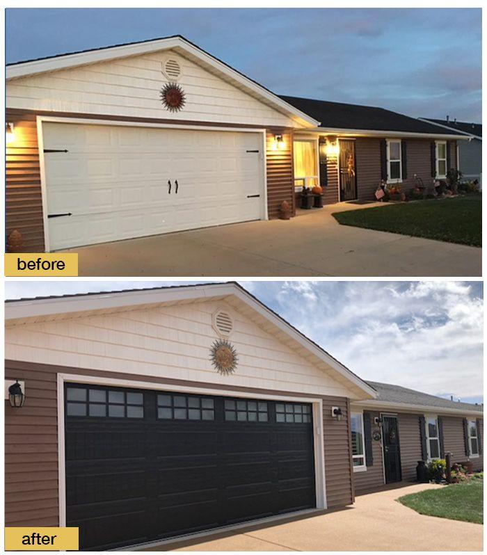 Easy Curb Appeal Garage Door Design Garage Doors Garage Door Styles