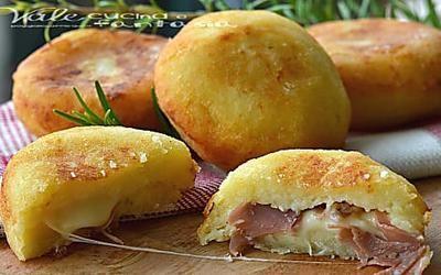 BOMBE DI PATATE ricetta veloce facile e golossissima