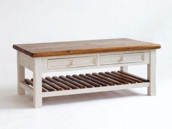 Rustikální kávový stolek Bodge 140x80