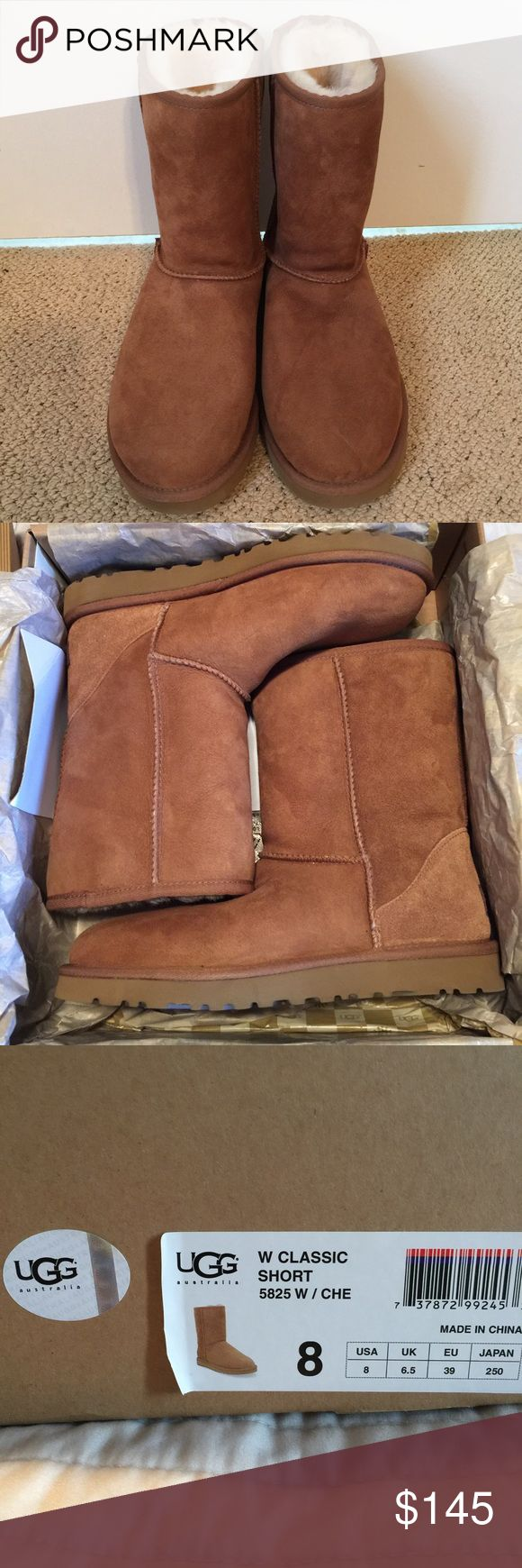 UGG Classic Short Boot Price FIRM • NIB Originally purchased fr Nordstrom. UGG Shoes Ankle Boots & Booties