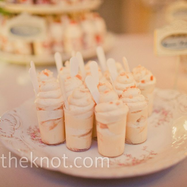 Southern shooters of banana pudding and strawberry shortcake |   Amelia Lyon Photography