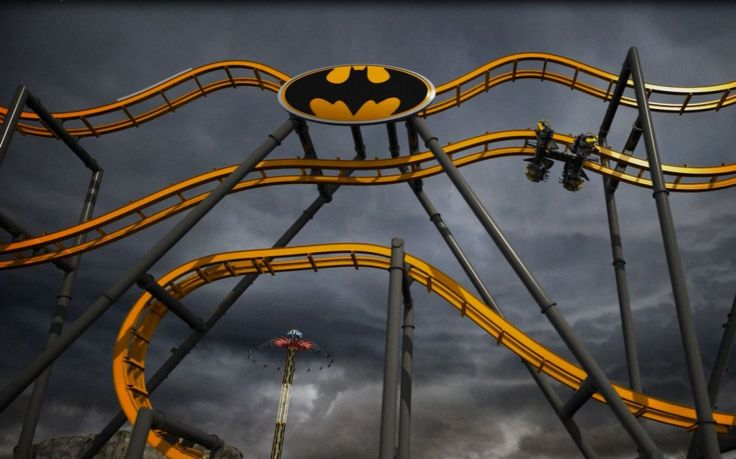 25 New Tourist Attractions Worth Adding to Your Bucket List | Batman: The Ride, Six Flags Fiesta Texas, San Antonio, TX