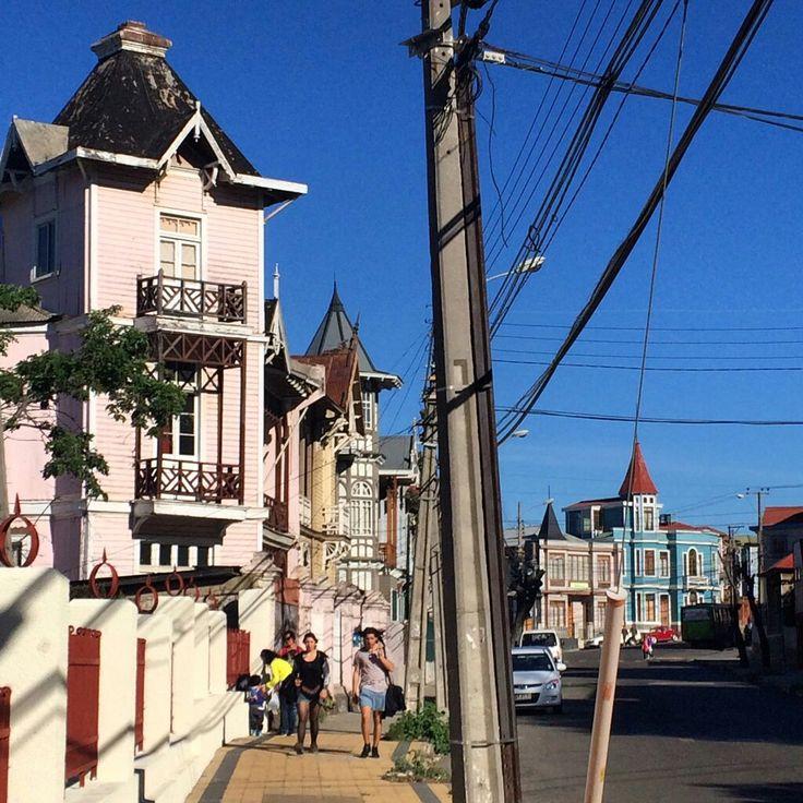 Avda. Gran Bretaña, Valparaíso. Chile.