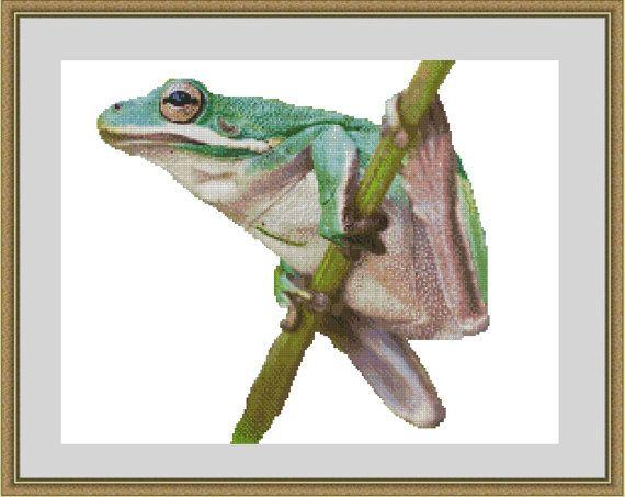 https://www.etsy.com/au/listing/170755649/tree-frog-counted-cross-stitch-kit-cross?