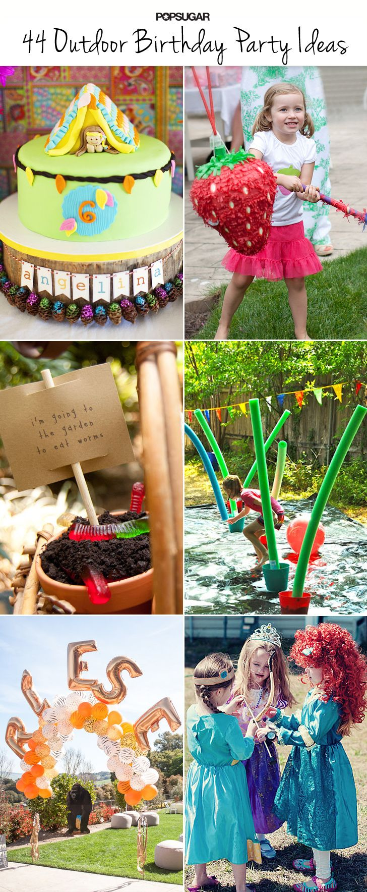 outdoor parties to throw your summer birthday child birthday parties
