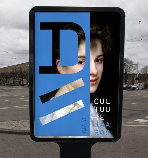 Rejane Dal Bello. City of Delft – Visual identity designed at Studio Dumbar. #identity #cultural