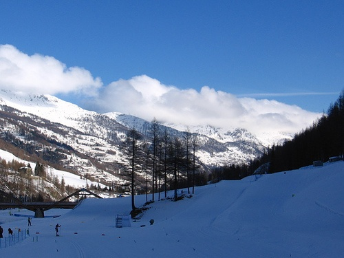 Pragelato - Skiing paradise in Italy