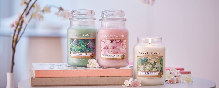 Nytt år, nya dofter. Håll utkik efter Yanke Candles nya dofter 2017. Pure Essence med Cherry Blossom, Linden Tree och Wild Mint. #YankeeCandle #CherryBlossom #LindeTree #WildMint Finns nu på www.yankeecandle.se