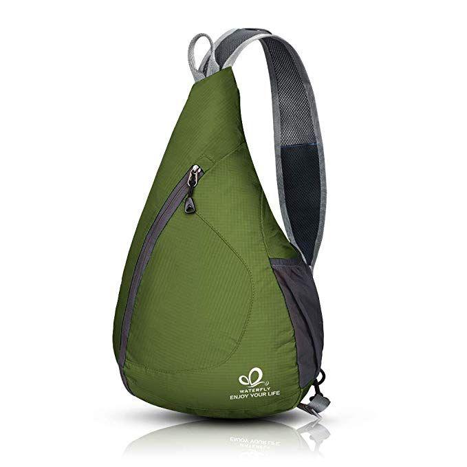 Men Women Shoulder Bag Sling Chest Pack Backpack Sports Crossbody Camping Travel